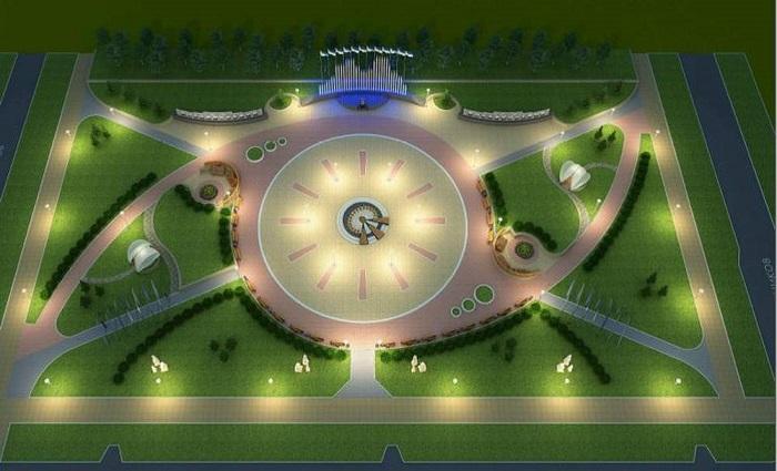 В Нижневартовске близится к завершению реконструкция сквера Строителей